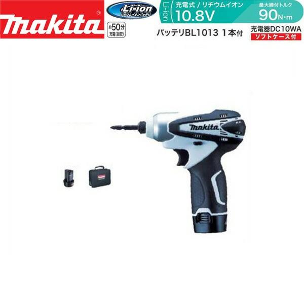 makita(マキタ):充電式インパクトドライバ(白) TD...