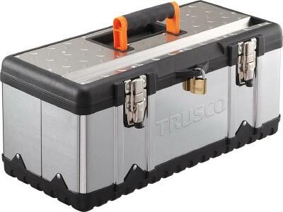 TRUSCO ステンレス工具箱 Lサイズ(1個) TSUS3024L...