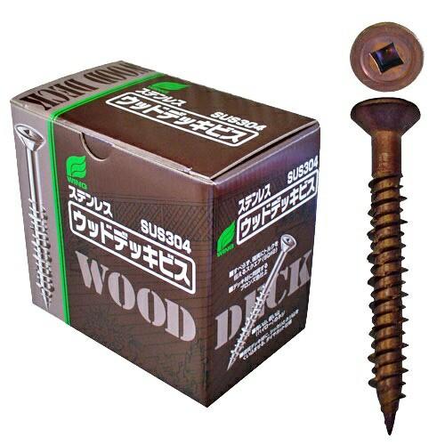 ウイング:ステンウッドデッキビス 5.5×65mm 1箱1...