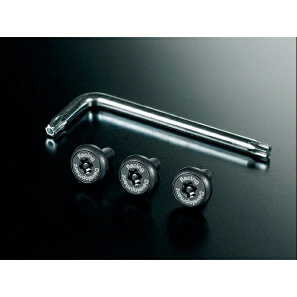TRD:ナンバープレートボルト TRD MS010-00017