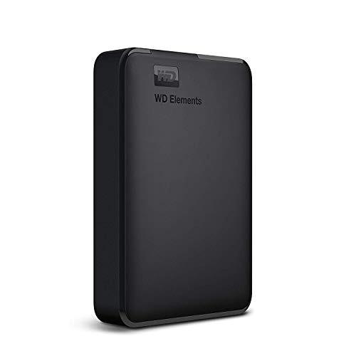 WD ポータブルHDD 5TB USB3.0 ブラック WD Elemen...