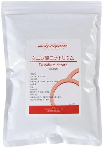 marugo(マルゴ) クエン酸三ナトリウム (1kg) 食品...