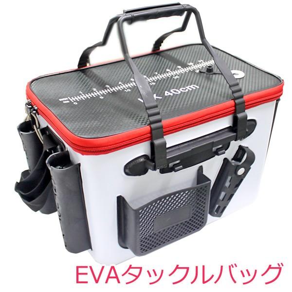 タックルバッグ EVA 釣りバッグ フィッシングバッ...
