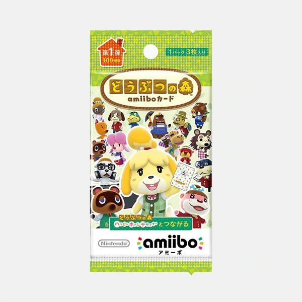 Nintendo どうぶつの森amiiboカード 第1弾 1パッ...