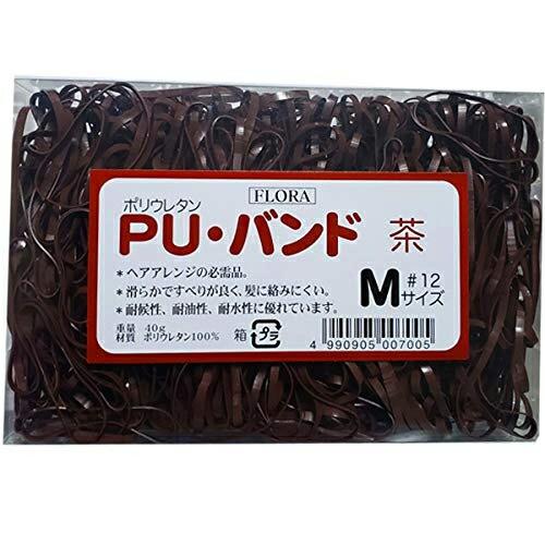 送料無料! ローレル フローラ PU バンド 茶 #1...