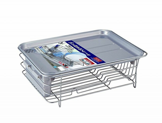 食器 水切りかご アスベル 5530 縦横兼用Wコート...
