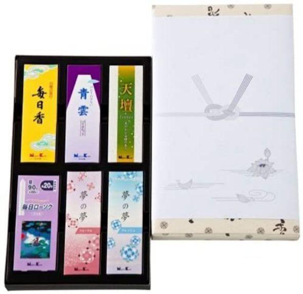 お線香 日本香堂 御香セット 1500    包装品