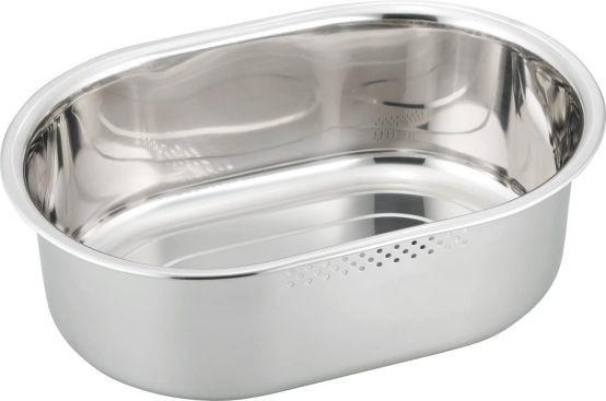洗い桶ゴム足付 小判型 小 水洗い 66052 つけ置き...