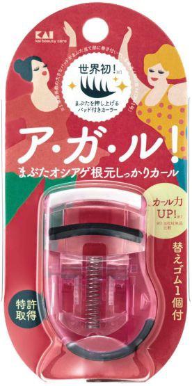 プッシュアップカーラー (ピンク ) KQ3035 貝印 ...
