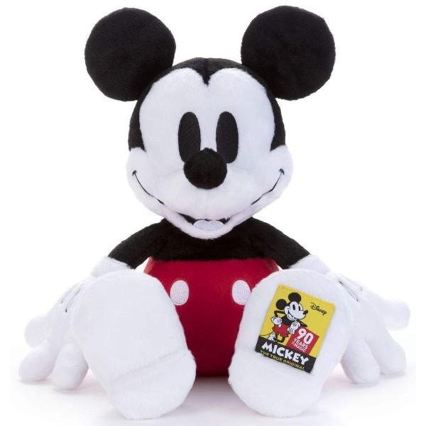 ディズニー ミッキー ぬいぐるみ 90周年 Mサイズ ...