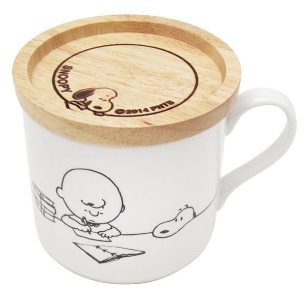 フタ付マグカップ (蓋付きマグ) ホワイト チャー...