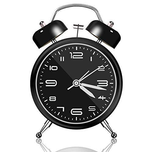 目覚まし時計 おしゃれ 大音量 子供 置き時計 電...