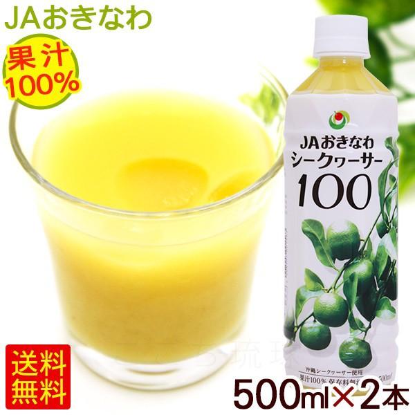 シークワーサー 果汁100% 500ml×2本 【小宅】 /...
