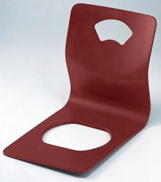 座椅子 木製座椅子 重厚型 扇茶 f6-1544-2