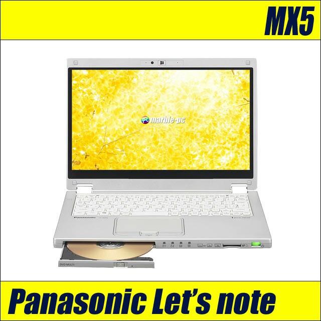 中古ノートパソコン Panasonic Let's note CF-MX...