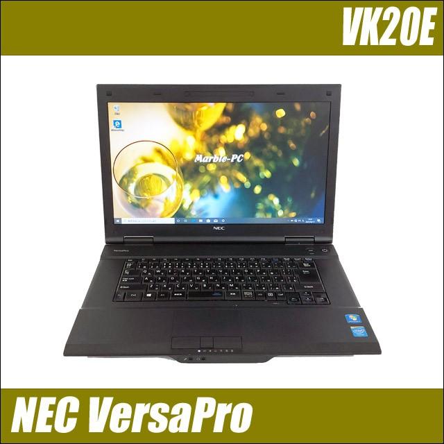 ノートパソコン 中古 NEC VersaPro タイプVA VK20...