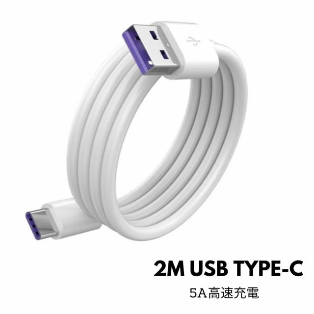 ぴっとシュ!対応可能 USB-C 充電 ケーブル (2m) ...
