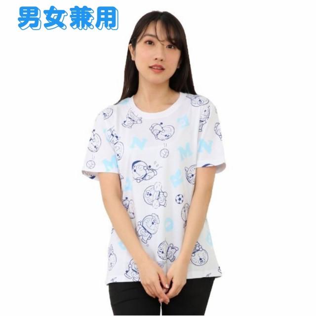 ドラえもんグッズ 半袖 Tシャツ Im Doraemon 総柄...