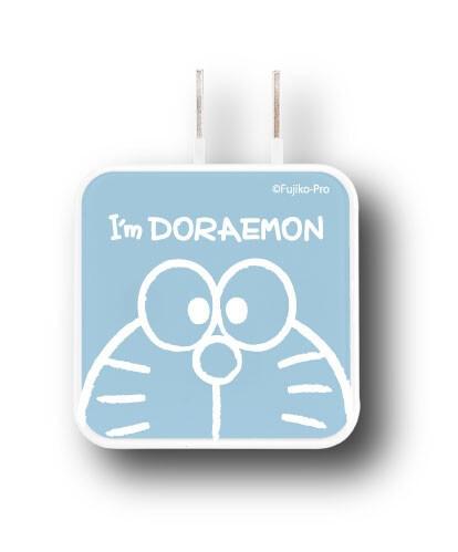 USB2ポートACアダプター ドラえもんグッズ Im Dor...