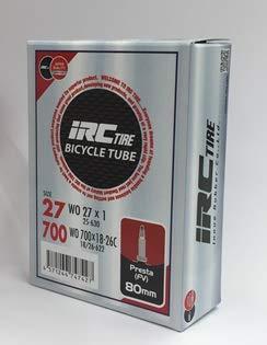 IRC チューブ WO 700×18-26C 仏式 80mm(27×1)【...