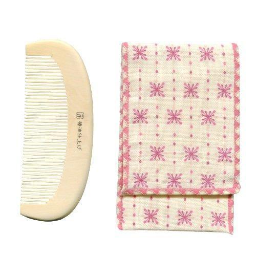 徳安 TB-501 つげのくし 携帯袋付き