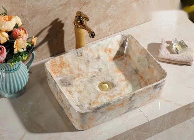 高級洗面台 洗面ボウルセット 洗面ボール 陶器 手...