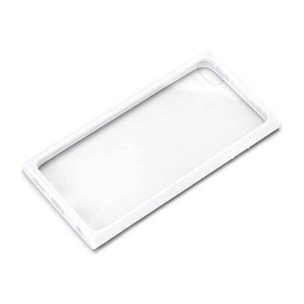 iPod touch 第7世代 ケース ホワイト ガラスタフ...