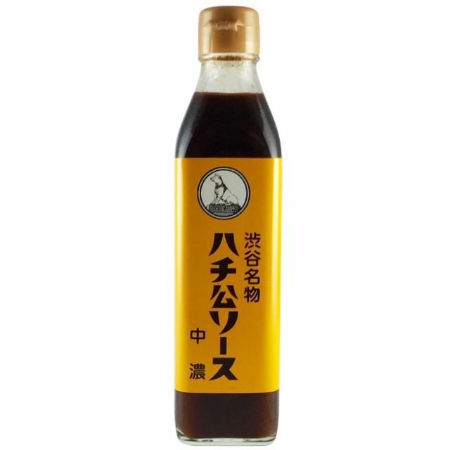 ハチ公ソース 中濃[300ml・瓶]