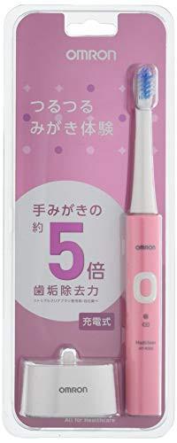 オムロン 音波式電動歯ブラシ HT-B305-PK HT-B305...