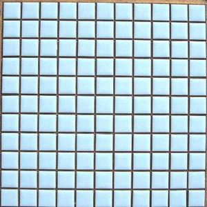 昔からのタイル 25mm角 水ブライト N−15