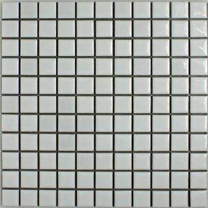 昔からのタイル 25mm角 白色ブライト N-1 30シー...