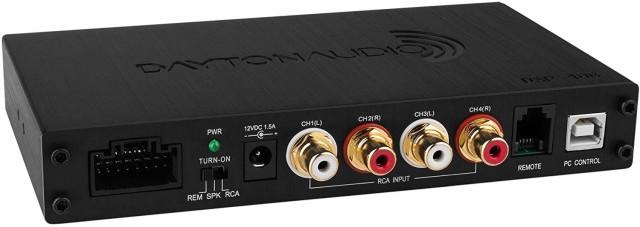 Dayton Audio DSP-408 4 x 8 DSPデジタルシグナル...