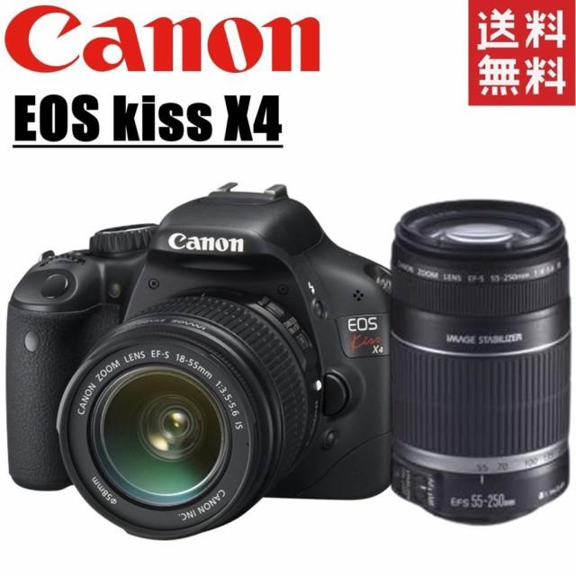 キヤノン Canon EOS kiss X4 ダブルレンズセット ...
