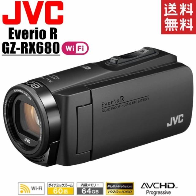 ビクター JVC KENWOOD Everio R GZ-RX680-B マッ...