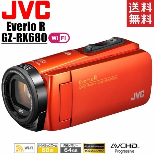 ビクター JVC KENWOOD Everio R GZ-RX680-D ブラ...
