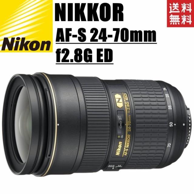 ニコン Nikon AF-S NIKKOR 24-70mm f2.8G ED FXフ...