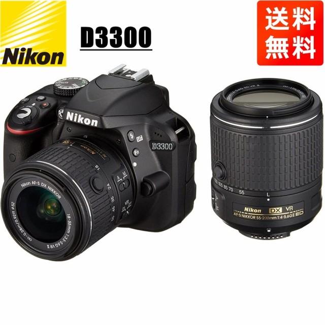 ニコン Nikon D3300 ダブルズームキット2 デジタ...
