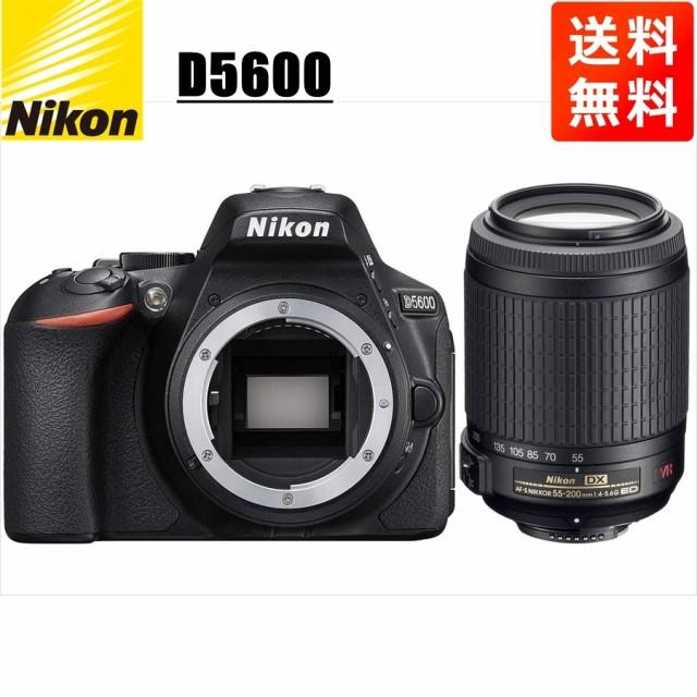 ニコン Nikon D5600 AF-S 55-200mm VR 望遠 レン...