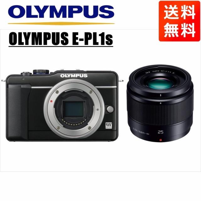 オリンパス OLYMPUS E-PL1s ブラックボディ パナ...