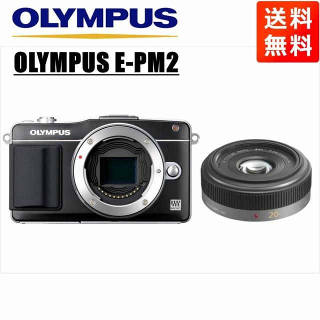 オリンパス OLYMPUS E-PM2 ブラックボディ パナソ...