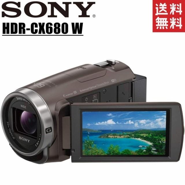 ソニー SONY HDR-CX680 TI ブラウン デジタルビデ...