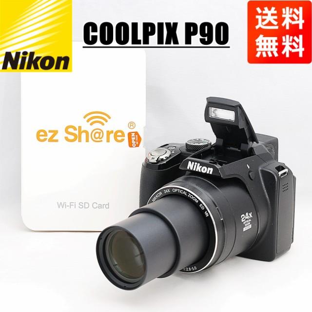 スピード発送 ニコン Nikon COOLPIX P90 Wi-FiSD...