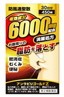 【第2類医薬品】【送料無料】防風通聖散 アンラ...