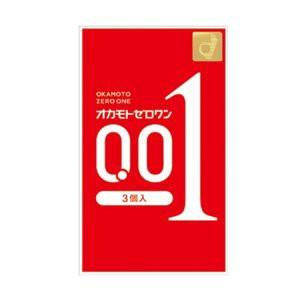 【即納】ゼロワン 0.01ミリ 3個入り オカモト