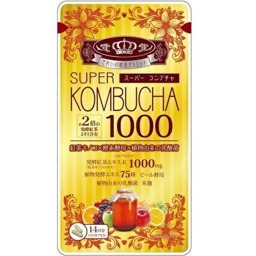 SUPER KOMBUCHA 1000mg 56粒  スーパー コン...