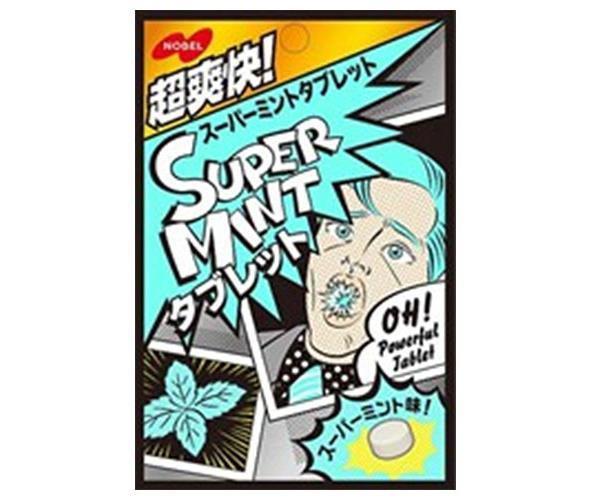 【10個セット】 ノーベル製菓 スーパーミントタ...