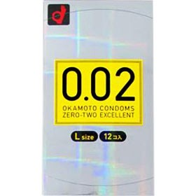 コンドーム/0.02EX Lサイズ 12コ入