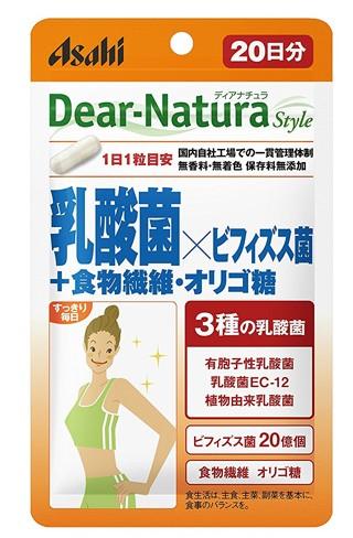 ディアナチュラスタイル 乳酸菌×ビフィズス菌+食...