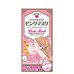 ふわふわ肌ざわり ピンクマスク 個包装 30枚