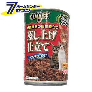 くいしんぼ かつお・まぐろ 400g  森光商店 [猫缶...